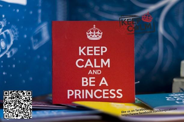 Thiệp Keep Calm