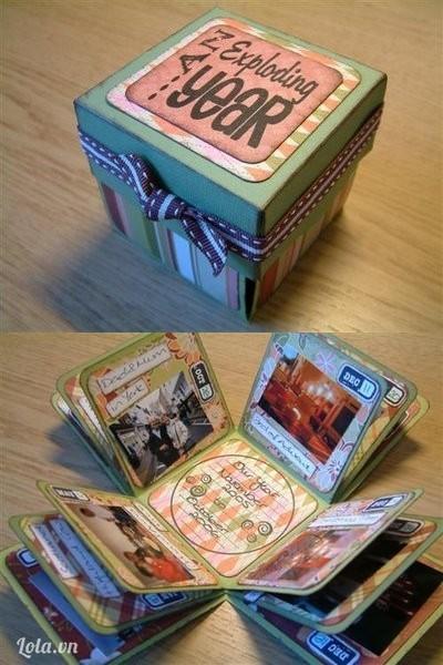 Ta đã làm xong một chiếc hộp ngộ nghĩnh như thế này nhé