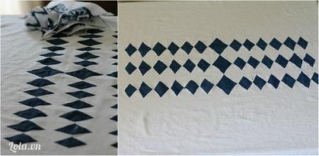 Đợi cho sơn khô, tháo bỏ giấy ra là có thể dùng được rồi nhé