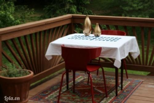 Tô điểm cho khăn trải bàn