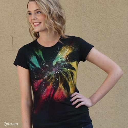 Mix áo thun họa tiết galaxy