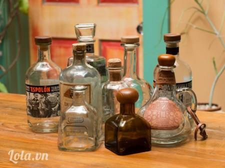 Chọn chai lọ mà bạn ưng ý nhất