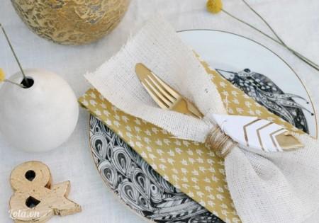 Bạn có thể dùng trang trí trên bàn tiệc hay treo dây để làm chuông gió đều đẹp