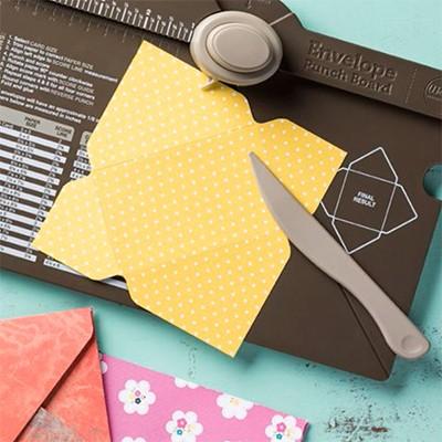 Bảng làm phong bì handmade