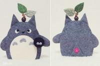 Thần rừng Totoro không chỉ giúp bạn tìm chìa khóa dễ hơn mà còn đóng vai trò như 1 chiếc túi nhỏ để bạn chứa chìa khóa nữa đó!