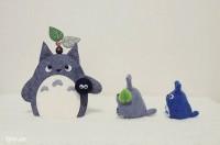 Bạn có thể làm thêm cả những chú tùy tùng của Totoro để trang trí nữa đó!