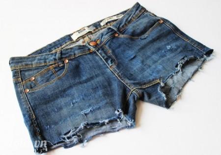 Chiếc quần sau khi đã cách tân