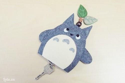 Móc khóa thần rừng Totoro siêu sáng tạo