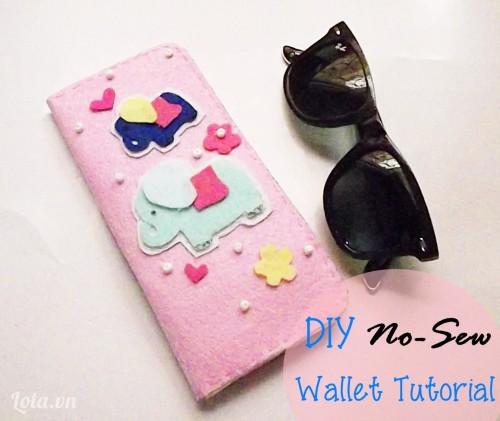 Chiếc ví dễ thương cho bạn gái