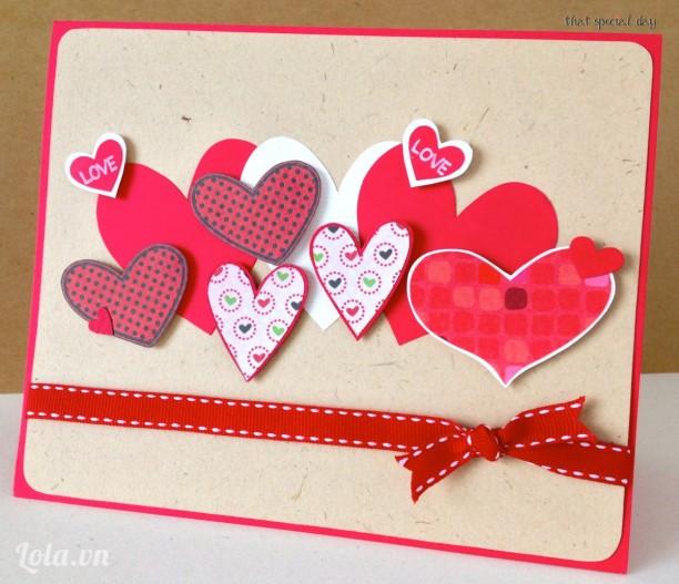 Thiệp Hearts
