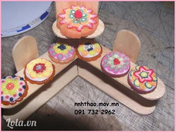 Minifood: bánh trái cây trang trí