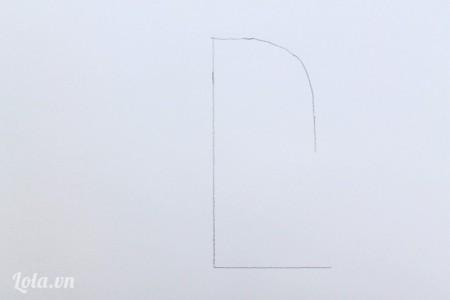 Vẽ một đường dài khoảng 5