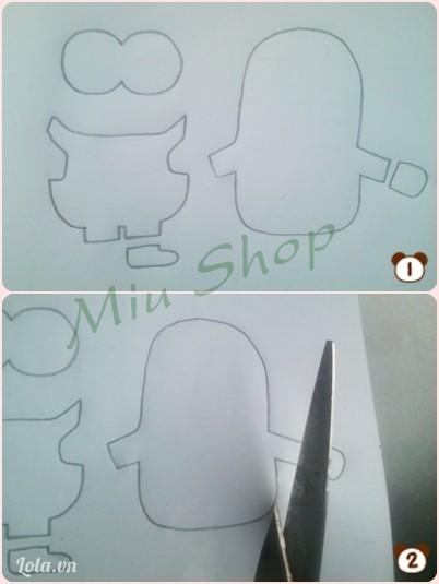 vẽ và cắt như hình bên