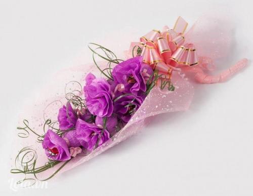 Hướng dẫn làm bó hoa giấy