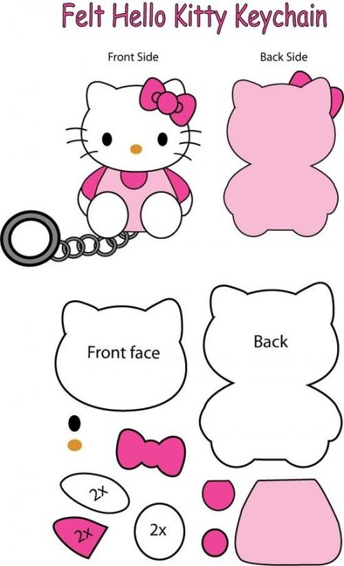 Móc chìa khóa Kitty