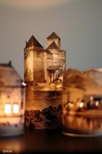 Chiếc đèn có thể chứa cả tòa lâu đài hay căn nhà cổ kính mà bạn hằng mong ước được đặt chân đến đó!