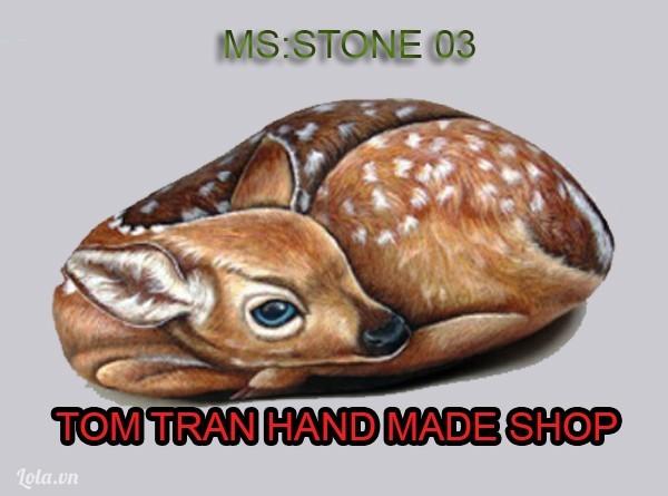 đá cuội vẽ hình 12 con giáp xinh xắn như thật