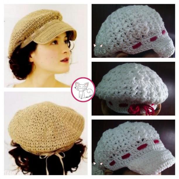 ♥ Be.04 ♥ Mũ có vành buộc ruy băng