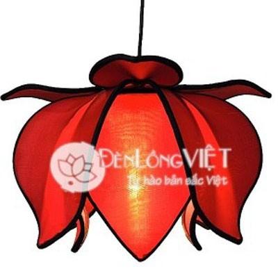 Đèn hoa sen treo – Màu đỏ