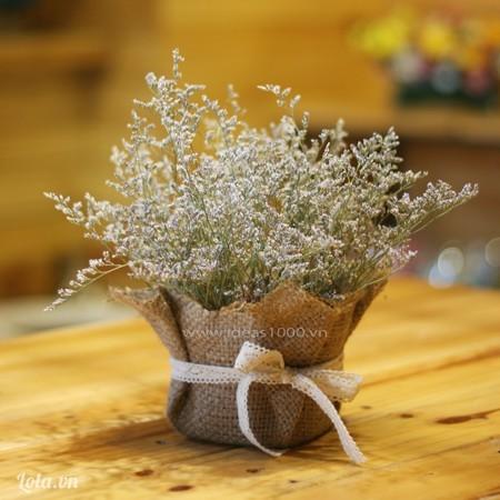 Túi hoa khô Vintage