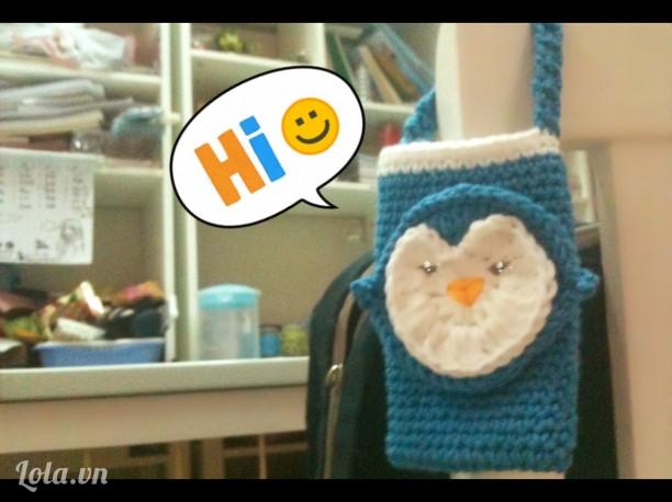 Túi đựng điện thoại chim cánh cụt