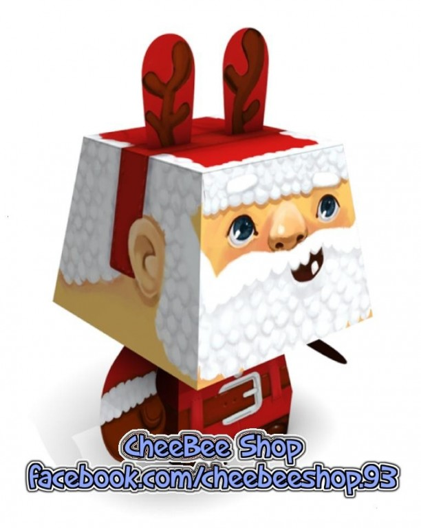 Mô hình giấy Ông già Noel