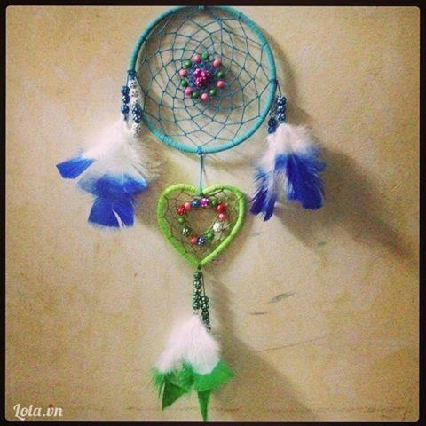 Dreamcatcher xanh