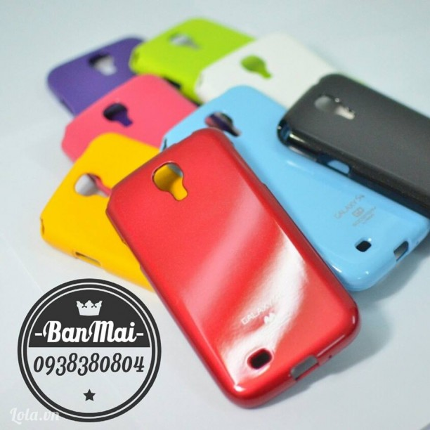 Mercury Jelly Case - Ốp dẻo Mercury cho Galaxy S4
