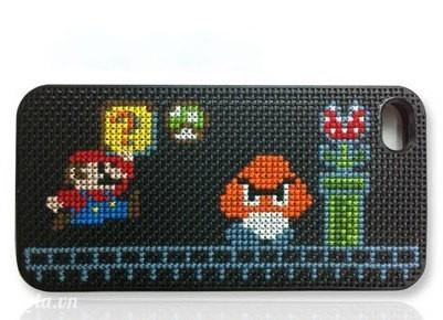 Ốp iphone nấm Mario cũng rất kute