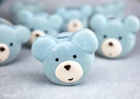 Macarons gấu cực xinh của bạn đã sẵn sàng để thưởng thức rồi! Macarons xinh thế này thì ai dám ăn nhỉ! Chúc bạn thành công
