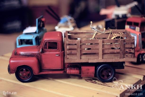 Mô hình xe tải Handmade phong cách Vintage