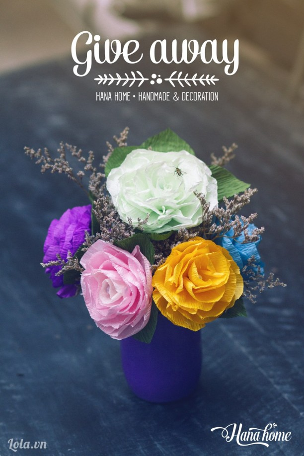 Table flower -  hoa để bàn