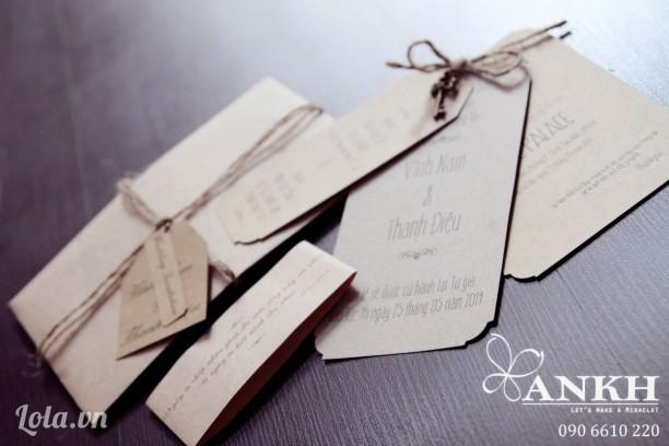 Thiệp cưới handmade