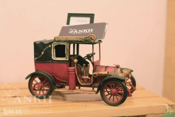 Mô hình xe cổ để name card