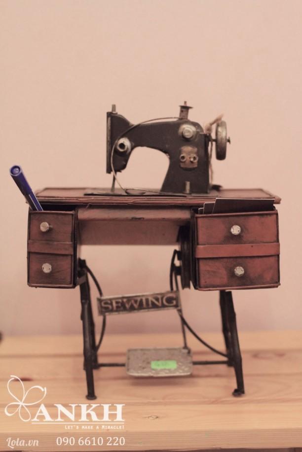 Mô hình Máy may sắt handmade
