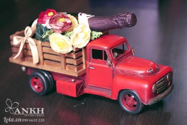 Mô hình xe tải handmade
