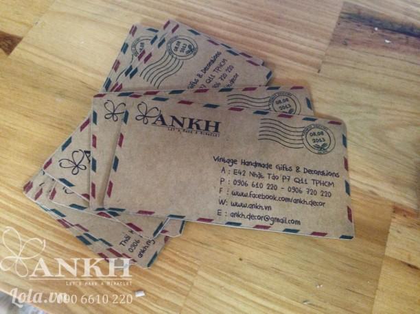 Danh thiếp , Namecard , Tag theo phong cách cổ điển