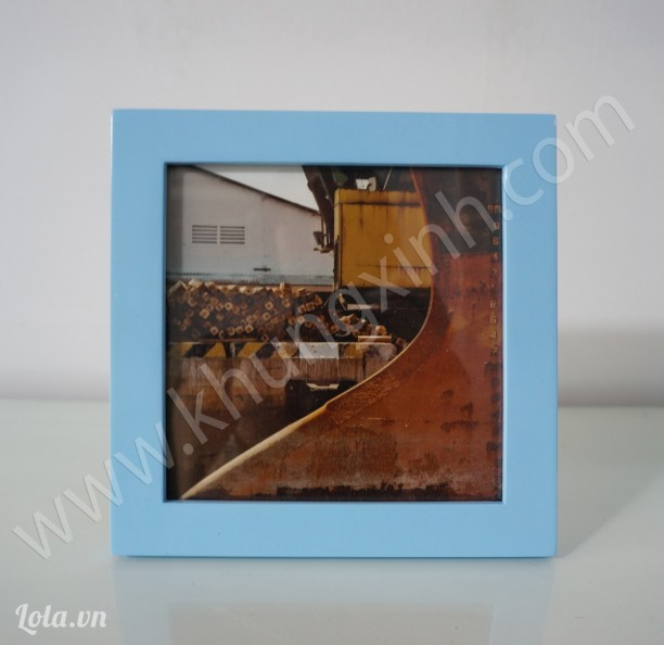 Khung gỗ xanh để bàn 15 x15 cm