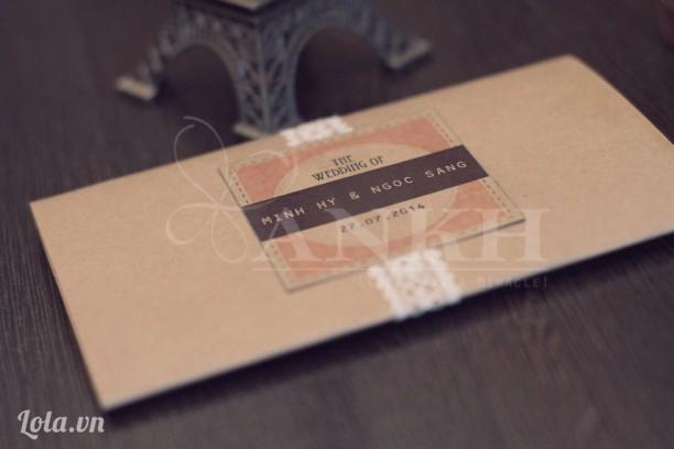 Thiệp cưới phong cách cổ điển ( Vintage )