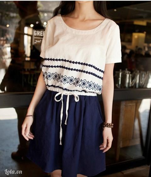 Váy thô vintage