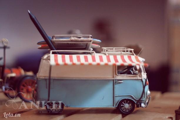Mô hình xe Bus Volkswagen cổ