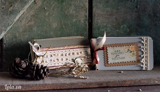 Mini love card-album handmade nhỏ nhắn cực xinh!