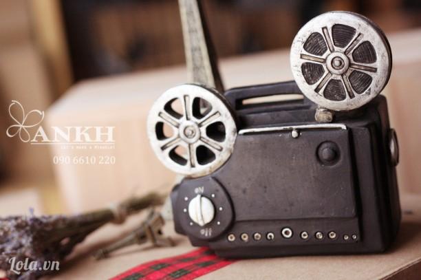 Mô hình máy quay phim cổ điển - handmade