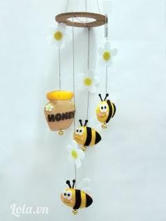 Chuông gió leng keng Ong Bee