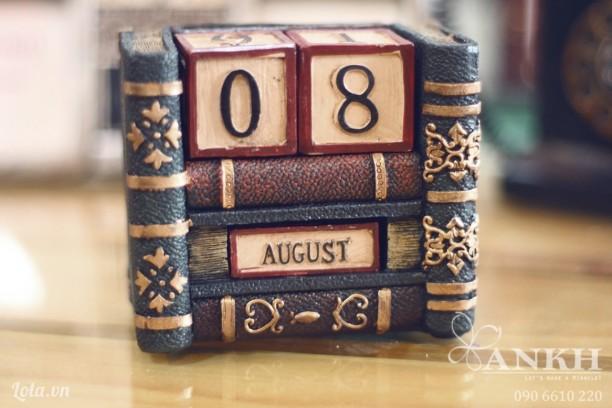 Lịch vạn niên kiểu sách - handmade