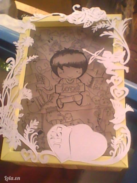 khung hình bằng giấy