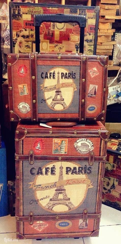 VALI KÉO VINTAGE_CAFE PARIS