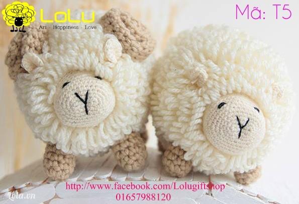 Cặp đôi cừu lông xù