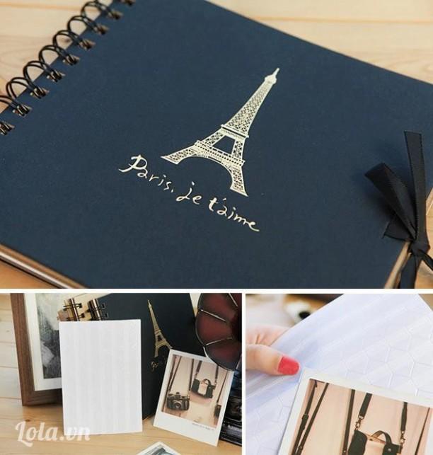 ALBUM PARIS DIY