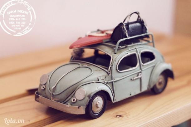 Mô hình xe Volkswagen cổ điển